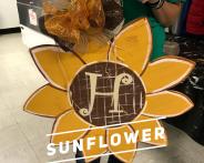 Sunflower / Curlz Font $35 Adult Shape