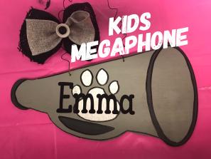 KIDS Megaphone / Janda Closer Font $15 Kids Shape