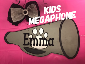 KIDS Megaphone / Janda Closer Font $15 Kids Shape
