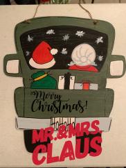 Mr.&Mrs. Claus $35 Adult Shape