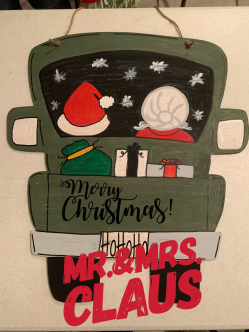 Mr.&Mrs. Claus $35 Adult Shape