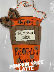 Pumpkin Spice Latte ($35 Adult Shape)