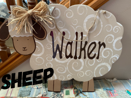 Sheep $35 Adult Shape