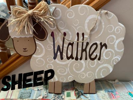 Sheep $35 Adult Shape